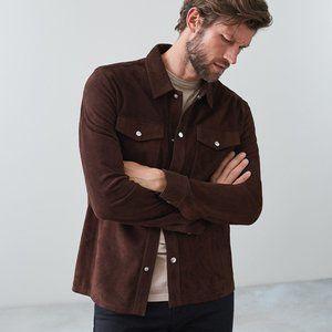 Weatherproof Overshirt in Deep Brown